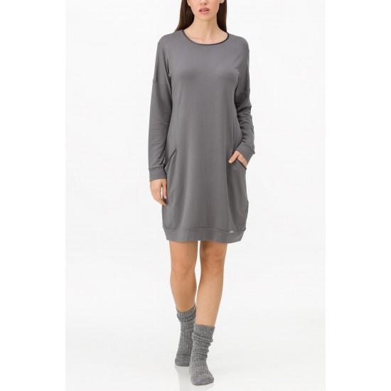 Vamp Γυναικείο  χειμερινό φόρεμα για το σπίτι 11246