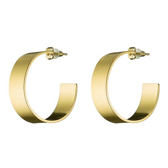 TRENTO ατσάλινα σκουλαρίκια σε χρώμα χρυσό Ν-02142G